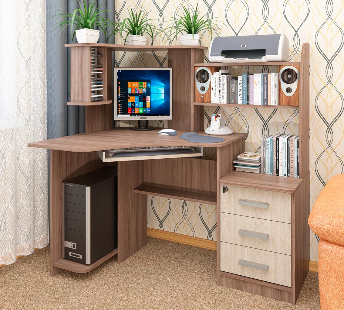 вид компьютерного стола картинки техническая